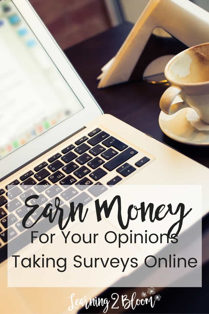 Surveys- Earn Money For Your Opinion - Learning2Bloom