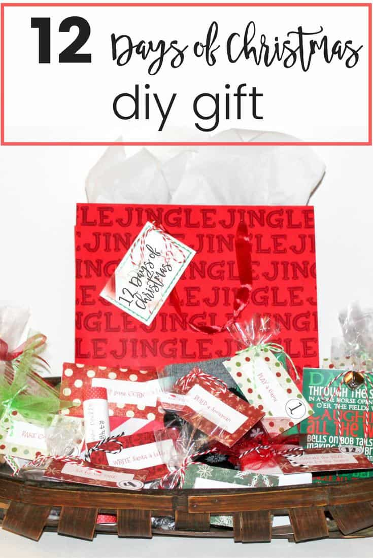 How Many Gifts Are In The Twelve Days Of Christmas.12 Days Of Christmas Diy Gift Learning2bloom