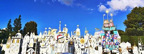 Holidays at Disneyland Small World