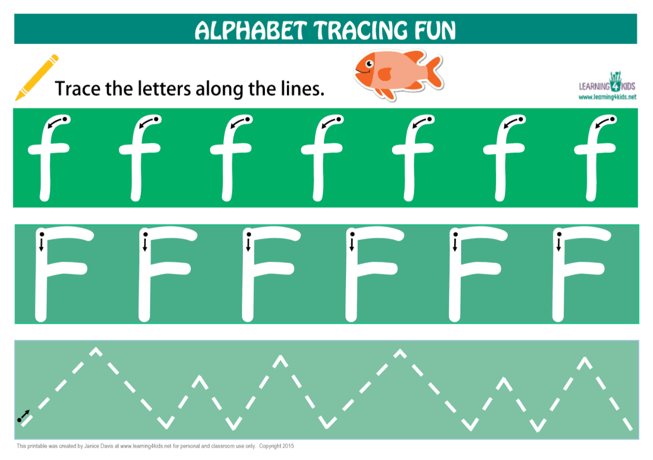 Number Amp Letters Tracing Mats Standard Print
