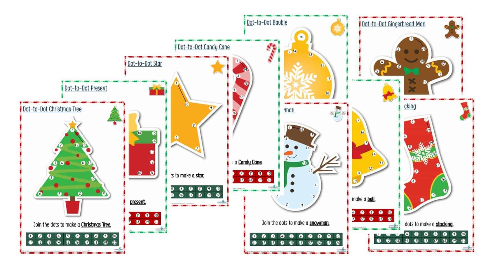 The Ultimate Christmas Printable Activity Pack