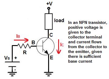 NPN transistor biasing