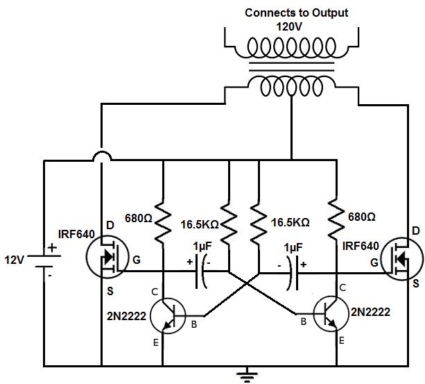 power inverter schematic  wire center •