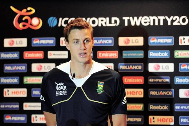 Morne Morkel Picture before ICC T20 Worldcup 2012