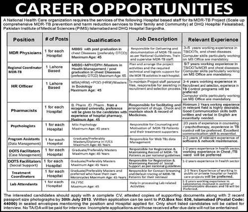 National-Health-Care-Organization-Jobs-2013
