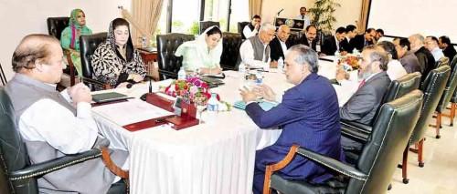 Nawaz-Sharif-Loan-Scheme-Meeting
