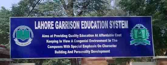 Lahore-garrison