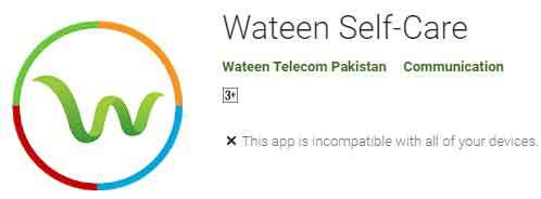 Wateen-Telecom-Support-App