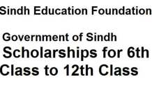 Sindh-Education-Foundation-Scholarship-Program-2020