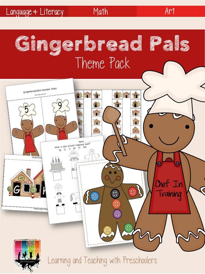 Gingerbread Letter Game