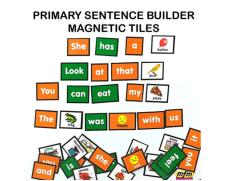 Sentence builder | Construcción de frases