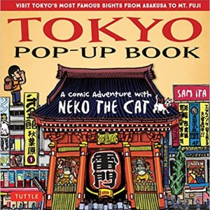 tokyo pop up book