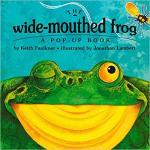 wide mouthed frog pop up book