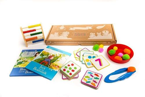Learning Club Annual educational Subscription box from learning club