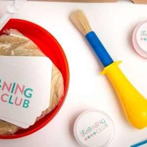 Learning club box from Learning club
