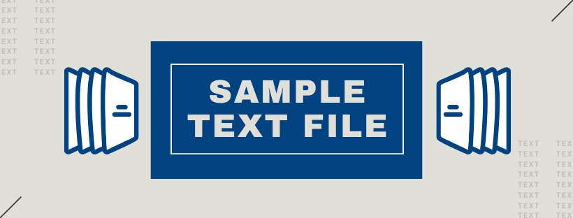 Sample Text File