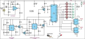 ClapControlled Switch Circuit Diagram