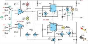 Logic Probe With Sound Circuit Diagram