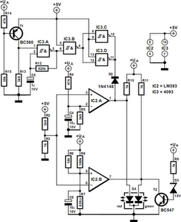 Motorcycle Battery Monitor Circuit Diagram