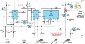 Switch Timer For Bathroom Light Circuit Diagram