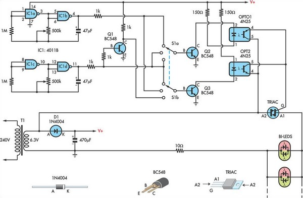 led christmas lights circuit diagram decoratingspecial com led wiring diagram for xmas lights 6 way wiring diagram for trailer lights