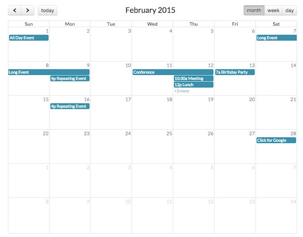 14 Top Calendar and Date Picker jQuery Plugins | Learning ...