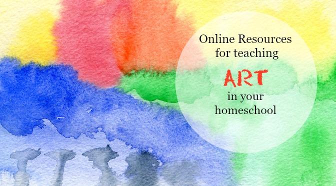 Top 5 Websites For Homeschool Art