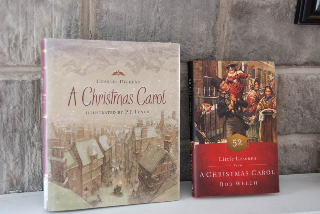 52 Little Lessons from A Christmas Carol by Bob Welch {Book Review}