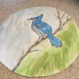 Adding art to nature study, Art Hub For Kids Blue Jay tutorial