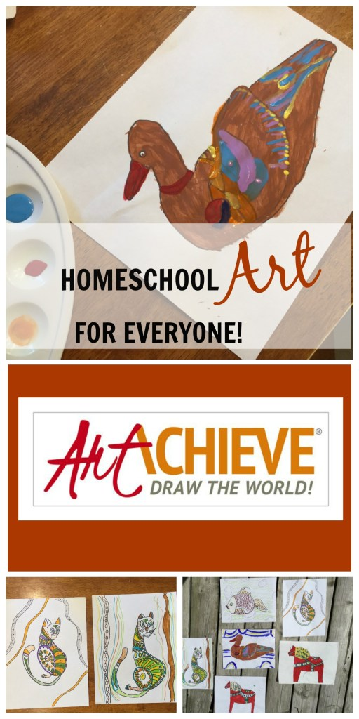 ArtAchieve - a great way to teach art to children of all ages and skill levels, regardless of teacher skill or experience!