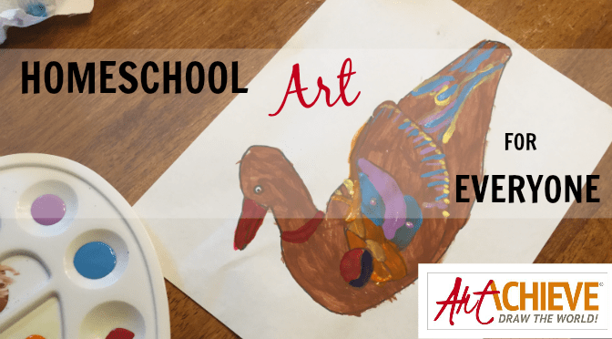 Homeschool Art for Everyone {ArtAchieve Review}