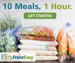 Freezer Cooking For Busy Homeschoolers {MyFreezEasy Review}