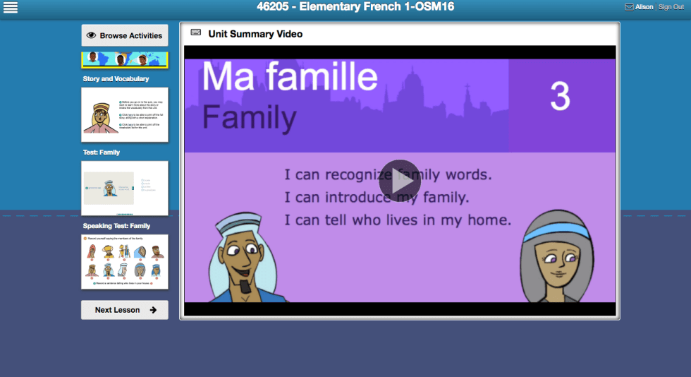 Middlebury Interactive Languages - online language learning for your homeschool