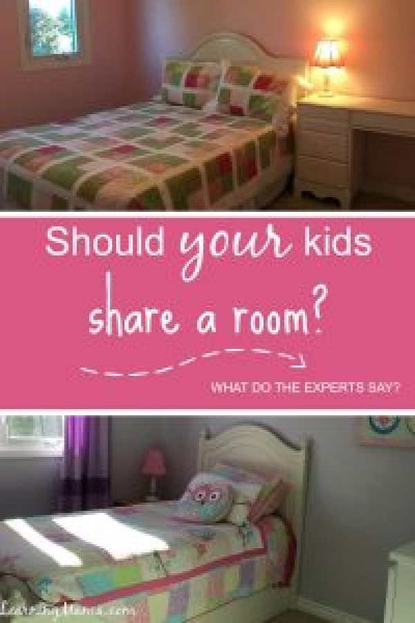 """The """"experts"""" say that siblings should share bedrooms builds strong sibling bonds and helps kids get along, but should YOUR kids share a room?"""