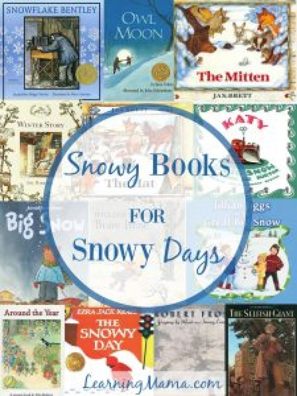 Snowy Books for Snowy Days - our favourite winter themed picture books
