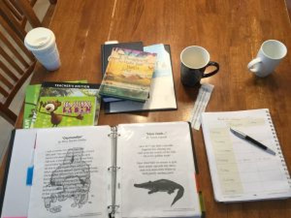 A Day in the Life of a Homeschooler - Morning Time!