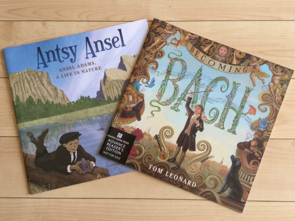 Picture Books for Music & Art Appreciation. Antsy Ansel & Becoming Bach {Raincoast Books Reviews}