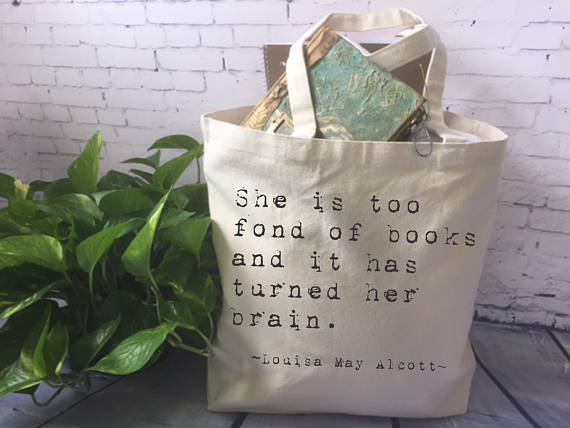 Non-Book Gift Ideas for Book Lovers - Book Tote!