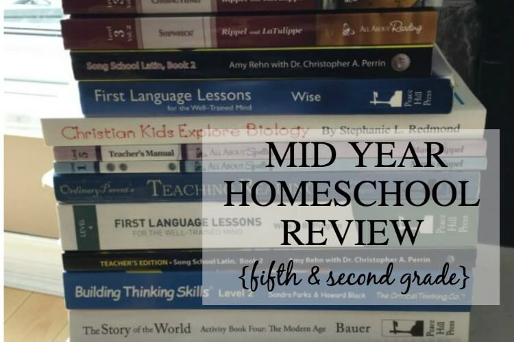 Mid Year Homeschool Review: A Quick Look at What's Working (and what's NOT) in Our Homeschool
