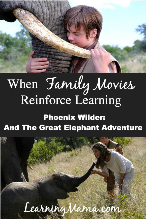 Celebrate World Elephant Day with a family movie that reinforces learning! Phoenix Wilder: And The Great Elephant Adventure