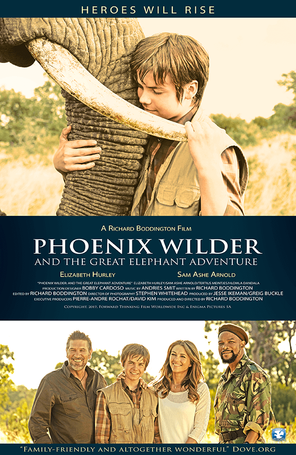 Phoenix Wilder: And The Great Elephant Adventure - in theatres April 16th 2018 -