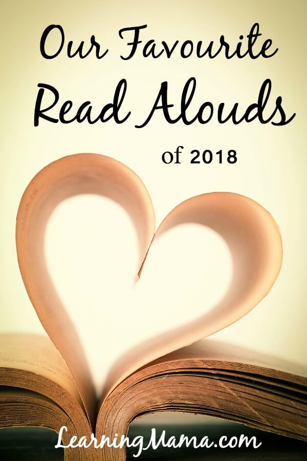 Our top 5 favourite read alouds from 2018