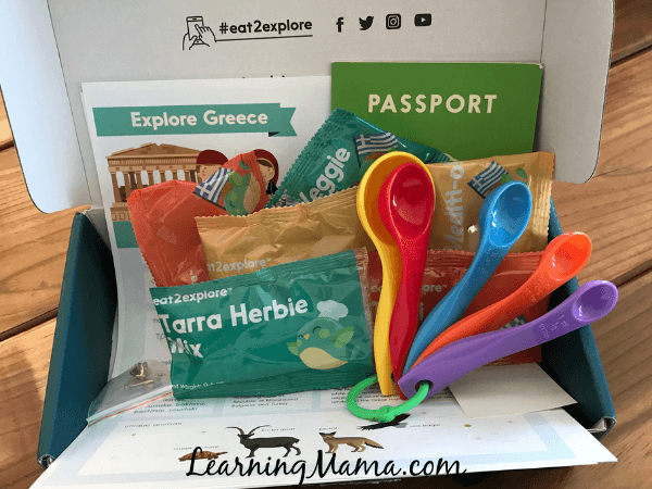 Eat2Explore Cooking Subscription Box REVIEW