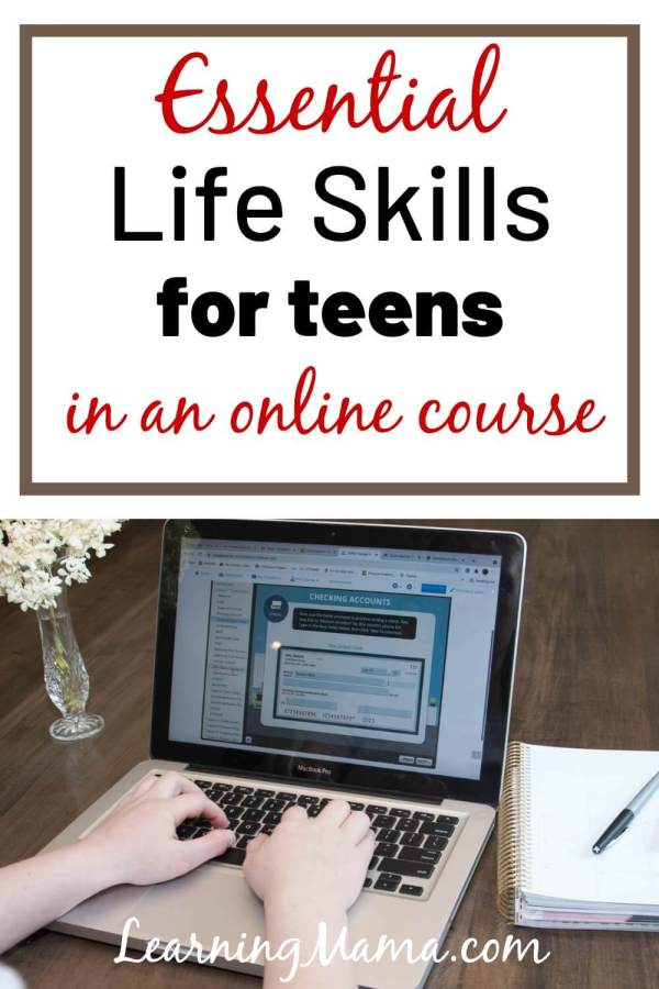 Check out Thrive Academic's Voyage online life prep course for teens