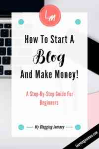 How To Create a Blog, How To Start Blogging, Make Money Blogging