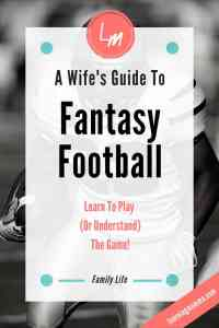 Fantasy Football for Women, Fantasy Football Wife, Learn to Play Fantasy Football, A Girl's Guide to Fantasy Football