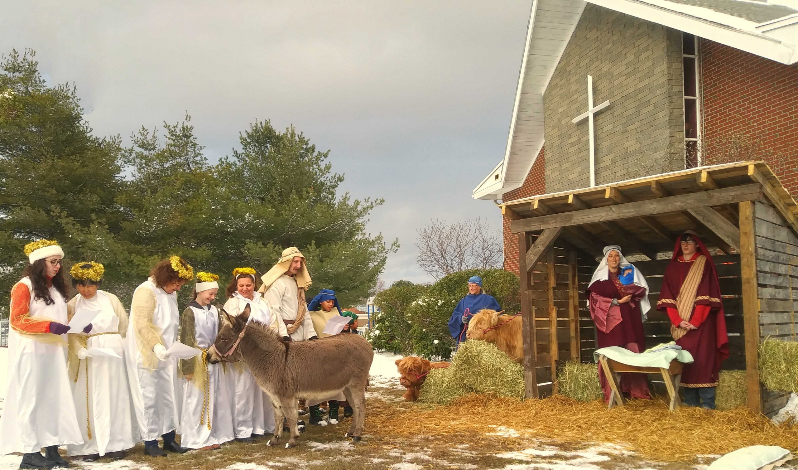 Southside Bible Fellowship Living Nativity