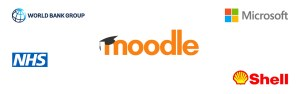 Big brands using Moodle