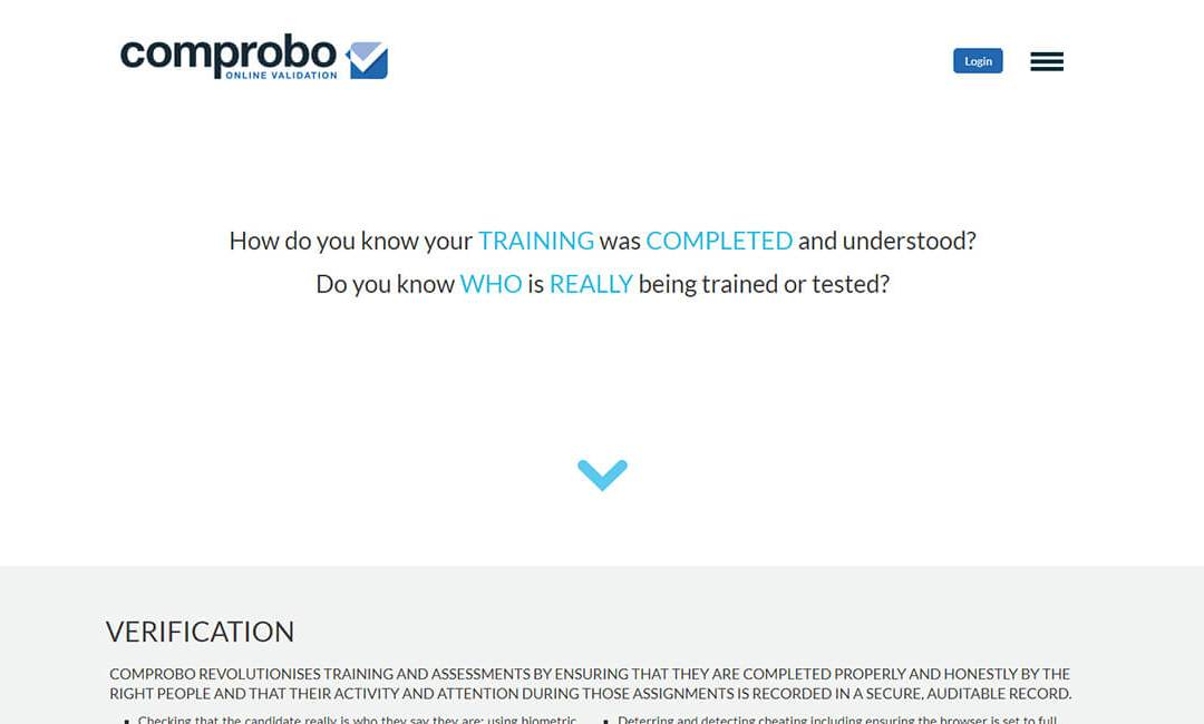 Comprobo – Identity Verification & Cheating Detection for Online Exams