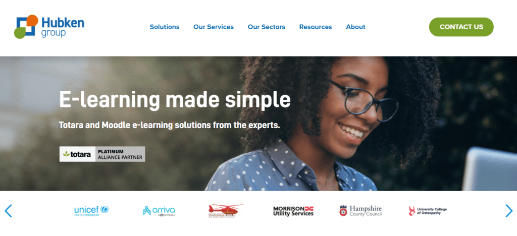 Totara and Moodle LMS solutions from Hubken Group